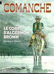 Le Corps D'Algernon Brown - Intérieur - Format classique