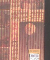 Lilium, lilium - carnet de dessins - 4ème de couverture - Format classique