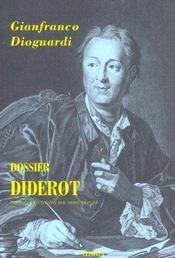 Dossier Diderot - Intérieur - Format classique