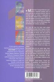 Petit Dictionnaire Des Mots Qui Ont Une Histoire - 4ème de couverture - Format classique