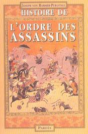 Histoire de l'ordre des assassins - Intérieur - Format classique