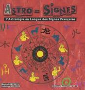 Astrosignes - Couverture - Format classique