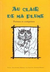 Au clair de ma plume ; poèmes & comptines - Intérieur - Format classique