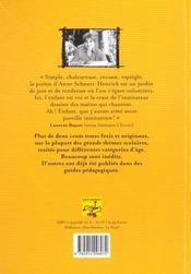 Au clair de ma plume ; poèmes & comptines - 4ème de couverture - Format classique