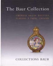 Flacons A Tabac Des Collections Baur, Geneve - Couverture - Format classique