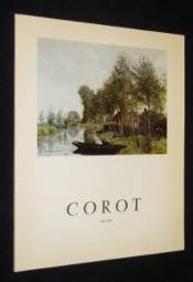 Corot 1796-1875. Catalogue de l'exposition réalisée à la Galerie Schmit du 12 mai au 12 juin 1971 - Couverture - Format classique