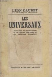 Les Unversaux. - Couverture - Format classique