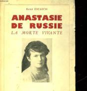 Anastasie De Russie - La Morte Vivante - Couverture - Format classique
