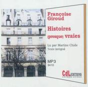 Histoires presque vraies - Couverture - Format classique