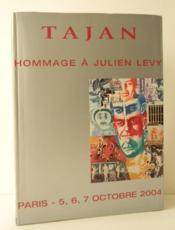 HOMMAGE A JULIEN LEVY. Tribute to Julien Levy. - Couverture - Format classique
