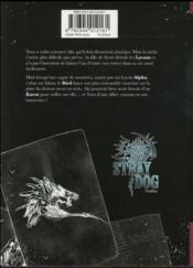 Stray dog T.2 - 4ème de couverture - Format classique