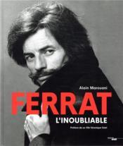 Jean Ferrat, l'inoubliable - Couverture - Format classique
