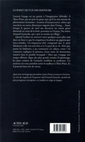 La nature de la bête - 4ème de couverture - Format classique