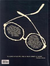 La mort à lunettes - 4ème de couverture - Format classique