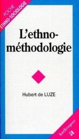 L'ethno-méthodologie - Couverture - Format classique