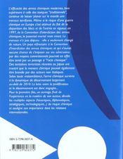 L'Arme Chimique - 4ème de couverture - Format classique