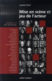 Mise en scène et jeu de l'acteur t.3 ; voix de femmes - Intérieur - Format classique