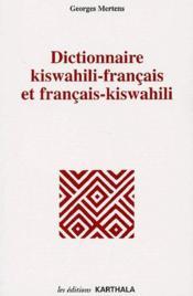 Dictionnaire kiswahili-français et français-kiswahili - Couverture - Format classique