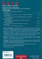 Chretiennes - 4ème de couverture - Format classique