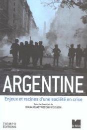 Argentine - Couverture - Format classique