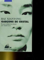 Garçons de cristal - Couverture - Format classique