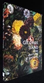 George Sand ; une nature d'artiste - Couverture - Format classique