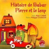 Histoire de Babar ; Pierre et le loup - Couverture - Format classique
