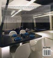 The new appartment ; grand style pour petits espaces - 4ème de couverture - Format classique