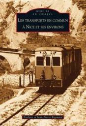 Les transports en commun à Nice et ses environs - Couverture - Format classique