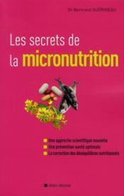 Les secrets de la micronutrition - Couverture - Format classique