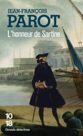 Les enquêtes de Nicolas Le Floch T.9 ; l'honneur de Sartine - Couverture - Format classique