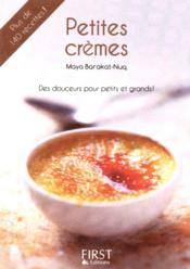 Petites crèmes - Couverture - Format classique