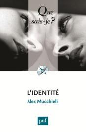 L'identité (9e édition) - Couverture - Format classique