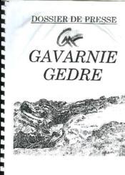 Dossier De Presse Gavarnie Gedre - Couverture - Format classique
