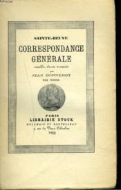 Correspondance Generale. Tome Premier Seul. - Couverture - Format classique