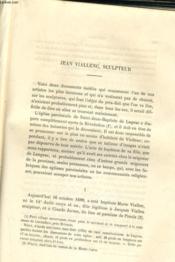Varietes Historiques Et Biographiques - Jean Viallenc, Sculpteur - Couverture - Format classique