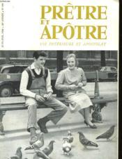 Pretre Et Apotre Vie Interieure Et Apostolat - N°490 - Couverture - Format classique