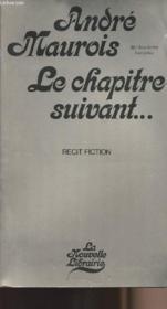 Le chapitre suivant...1927 - 1967 - 2007 - Couverture - Format classique