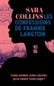 Les confessions de Frannie Langton - Couverture - Format classique
