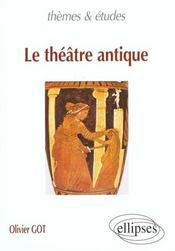 Le theatre antique - Intérieur - Format classique