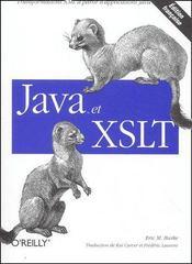 Java et XSLT - Couverture - Format classique