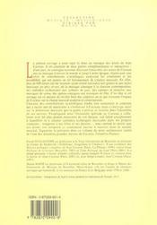 Jean Cocteau Textes Et Musique - 4ème de couverture - Format classique