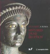 HISTOIRES D'UNE ERUPTION. Pompéi Herculanum Oplontis - Intérieur - Format classique
