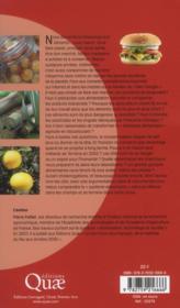 Nos aliments sont-ils dangereux ? 60 clés pour comprendre notre alimentation - 4ème de couverture - Format classique