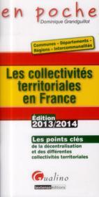 telecharger Collectivites territoriales en france en 2013, 2eme edition (les) livre PDF en ligne gratuit