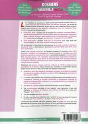 Dossiers Passerelle Ecn Dossiers Transversaux - 4ème de couverture - Format classique