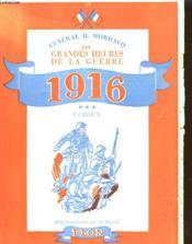 Les Grandes Heures De La Guerre - 1916 - Verdun - Couverture - Format classique