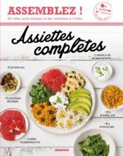 Assiettes complètes - Couverture - Format classique