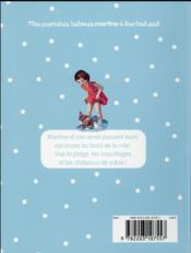 Je commence à lire avec Martine T.21 ; Martine à la mer - 4ème de couverture - Format classique