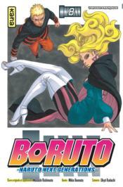 Boruto - Naruto next generations T.8 - Couverture - Format classique